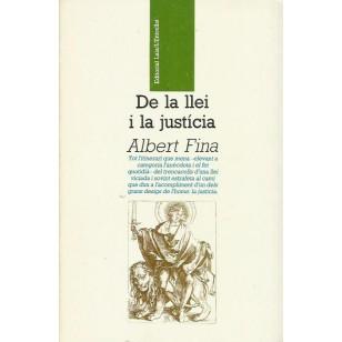 DE LA LLEI I LA JUSTICIA