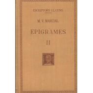 EPIGRAMES II