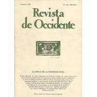 REVISTA DE OCCIDENTE 45 Febrero 1985