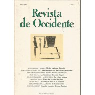 REVISTA DE OCCIDENTE 3 1980
