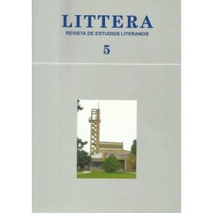 LITTERA 5 2009  Revista de estudios literarios