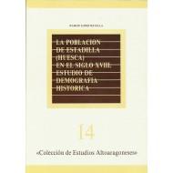 LA POBLACIÓN DE ESTADILLA (HUESCA) EN EL SIGLO XVIII.ESTUDIO DE DEMOGRAFÍA HISTÓRICA