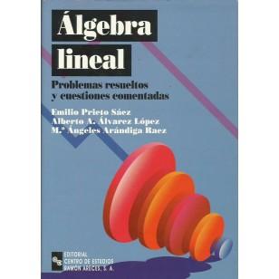 LGEBRA LINEAL. PROBLEMAS RESUELTOS Y CUESTIONES COMENTADAS (INCLUYE CD)