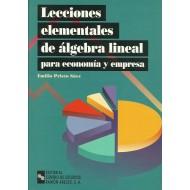 LECCIONES ELEMENTALES DE ÁLGEBRA LINEAL PARA ECONOMÍA Y EMPRESA
