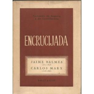 ENCRUCIJADA JAIME BALMES, CARLOS MARX