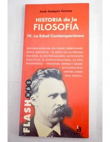 HISTORIA DE LA FILOSOFÍA IV La edad...