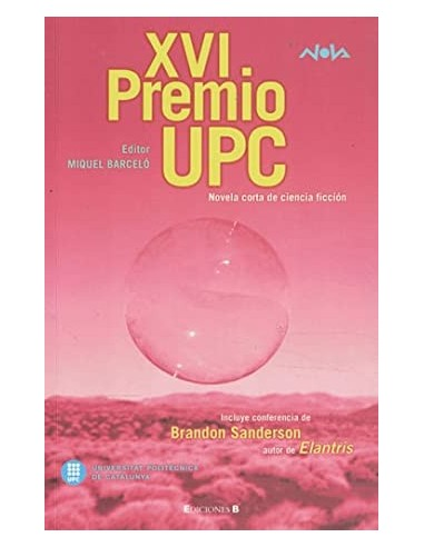 XVI PREMIO UPC Novela corta de...